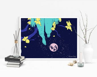 On top of the Moon Poster