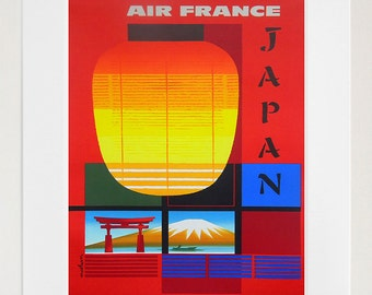 Japan Art Vintage Travel Poster Print Japanese Home Wall Decor (XR393)