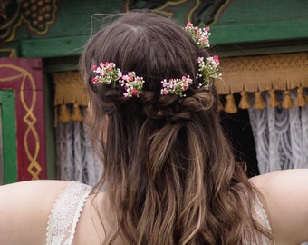 Piper Gypsophila Hair Pin