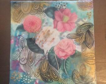 Flower Chaos, Original Art