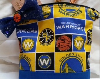 Golden State Warriors Cosmetic Bag
