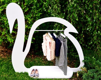 SWAN HANG  Clothes hanger