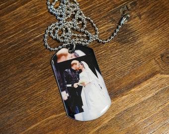 Royal Wedding Photo Necklace.