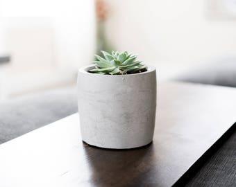 Concrete Succulent Pot | Plant | Indoor | Outdoor | Minimalist | Modern | Cactus Planter | Large