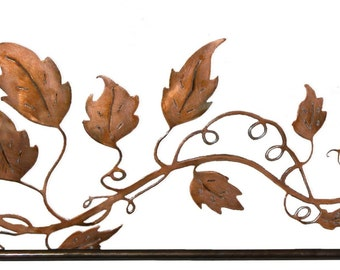 Metal Art Vine design quilt hanger