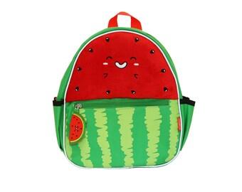 Pinky & Flo Safety Reflective Toddler Backback Watermelon
