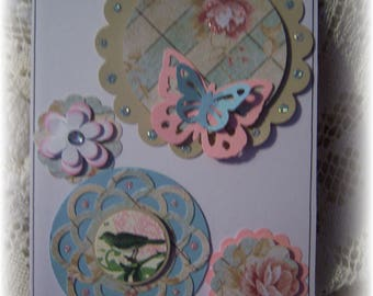 Layered Cardstock Embellishments for Scrapbook,Journal,Handmade Card