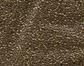 5g DB22L Metallic Light Bronze Delica Bead