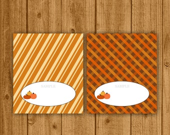 Thanksgiving Holiday Food Tent Card , Thanksgiving, Printable Food Card, Thanksgiving Table, Food Cards, Place Cards, Instant Download