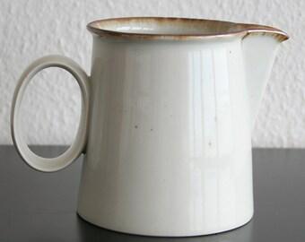 DANSK DESIGNS Brown Mist Pitcher Niels REFSGAARD Danish Design Stoneware Denmark Midcentury Modern