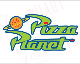 Toy Story - Pizza Planet (FULL COLOR)- Party Poster. Digital file