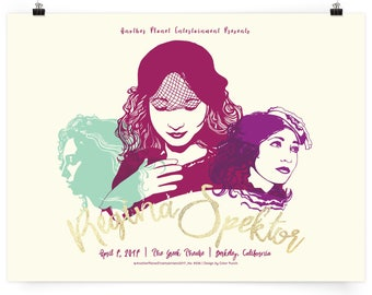 Regina Spektor Poster