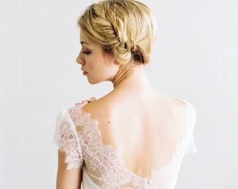 Ella Dress //  silk wedding dress
