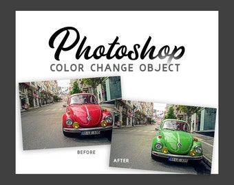 Photoshop Help - Color Change Object - Graphic Design Services