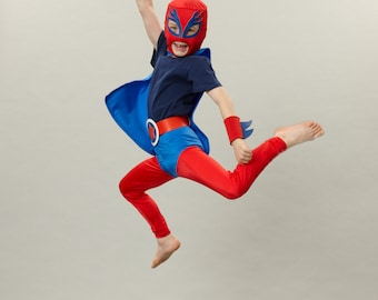 LUCHA Libre cape - superhero cape with hood