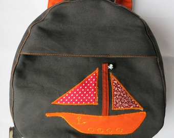 Toddler Backpack Pirate Ship