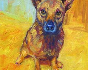 ORIGINAL Pet Portrait DEPOSIT ~ See Listing For Details