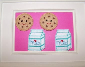 Milk & Cookie Felties Scrapbooking, Card Making, Bow Center