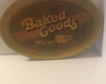 1979 Vintage Pentron Industries Baked Goods Tray/platter