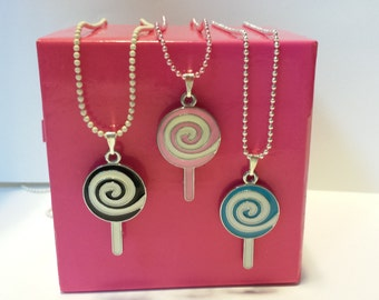 Sale! Lolly pop Candy Necklace #3