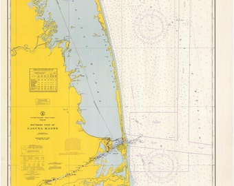 Laguna Madre Map & Rio Grande 1967