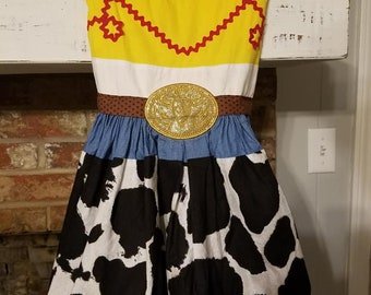 Toy Story Jessie Cowgirl Dress Toy Story Land Disney Vacation