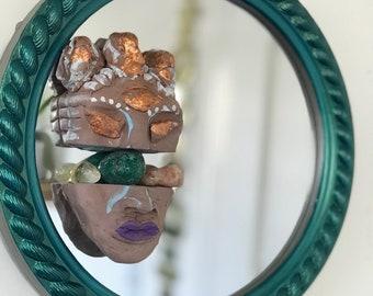 Warrior Woman Mirror