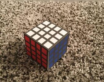 4x4 Papercraft Rubik's Cube