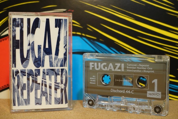 Repeater by Fugazi Vintage Cassette Tape
