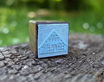 stamp GERMAN FARMHOUSE