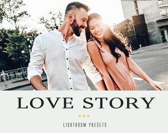 50 Love Story Lightroom presets