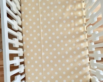 Free shipping / fitted sheet for crib/fitted sheet made by hand for a bed of baby/fitted sheet for crib/Baby crib sheets/Handcr