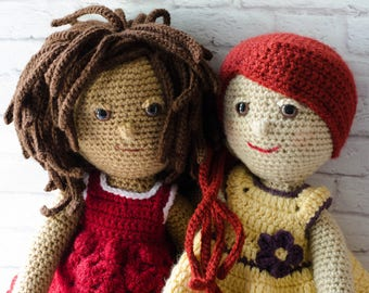 Amigurumi Magazine Pdf : Crochet doll pattern amigurumi pdf instant download marcy
