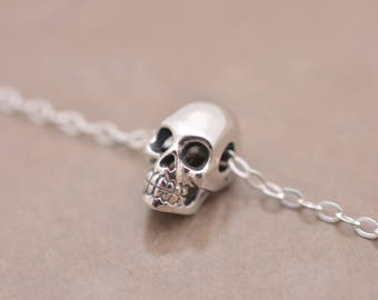 Skeleton necklace etsy popular items for skeleton necklace aloadofball Gallery