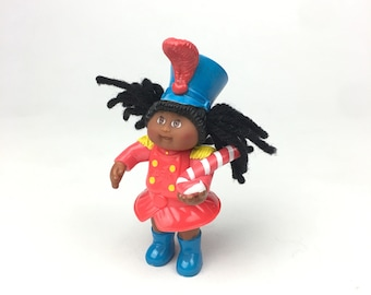 Abigail Lynn African American Black Cabbage Patch Toy Holiday Doll McDonalds Vtg