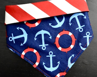 Anchors Aweigh • crochet button on