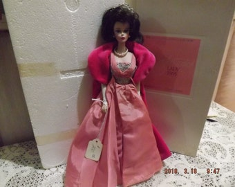 Sophisticated Lady 1965-- The Barbie Porcelain Collection #04673  (1990)