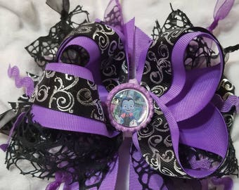 vampirina over the top hair bow 5in bow