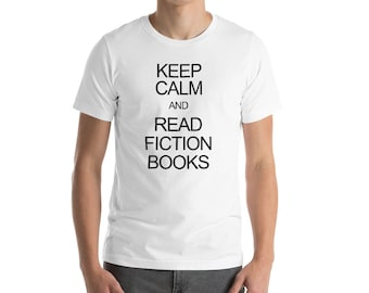 Keep calm and read fiction books