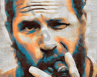 Tom Hardy Art Print - Oil Painting Poster  LFF0203