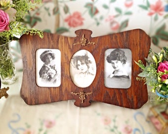 Antique Edwardian Photo Frame