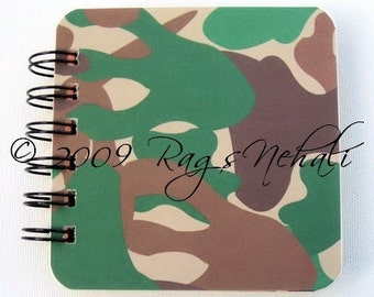 Woods Jungle Safari Print - Post It Note Holder Planner - Makes a great Gift