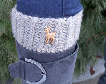 Deer to me Boot cuffs