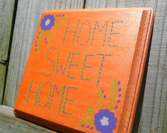 wood sign Home Sweet Home
