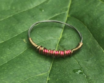 Wire Duo Ring