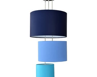 "Shade suspension triad ""BLUE"""
