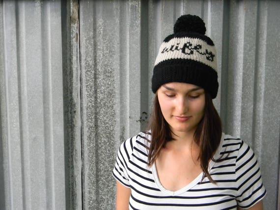 PATTERN: Cursive Wifey Beanie Fair isle crochet hat Hat