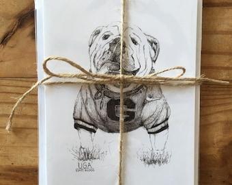 UGA Note Cards