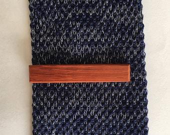 Padauk Tie Clip - wooden tie clip - wood tie clip - wedding accessories - groom