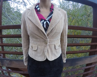 Tan Plush Jacket